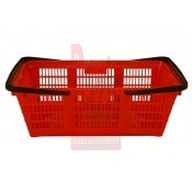 Bevásárló kosár - bolti kosár - klasszikus - Piros (PT-BVK-P)