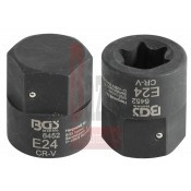 Bit belső torx - teherautós - E24 MAN - BGS (9-6452)