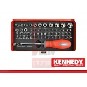 Bit készlet 60 részes. Ken-Grip + spec. Kennedy - (KEN-573-6370K)