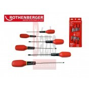 Csavarhúzó készlet - 6 részes - EUROLINE - Rothenberger (73570)