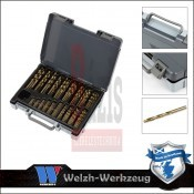 Csigafúró Klt. HSS Co5 Kobaltos - műanyag kofferben - 170 részes (2013-WW)