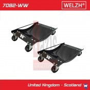 Gépkocsimozgató 2 db-os 1 db teherbírása: 450 kg méret:385 x 605 mm (7082-WW)
