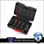 "Kerékanyakulcs  kétfejű klt. 1/2"" 4 db-os - króm kupakokhoz- Welzh (3107-WW)"