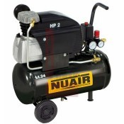 Kompresszor, dugattyús 024L 1,5 KW 8 bar 230V NUAIR (FC2/24)