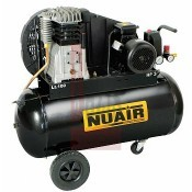 Kompresszor, dugattyús 100L 2,2 KW 10 bar 230V NUAIR (B3800B/100CM3)