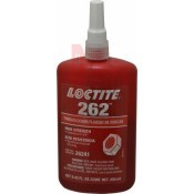 Loctite csavarrögzítő 262 - piros - 250 ml (LOC262-250)
