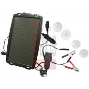 Akkumulátor töltő, napelemes 4W OBD2 csatlakozóval - Hubitools (HU34018)